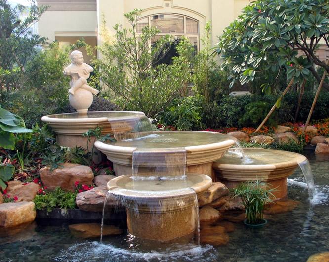 水景喷泉施工设计要点有哪些图片