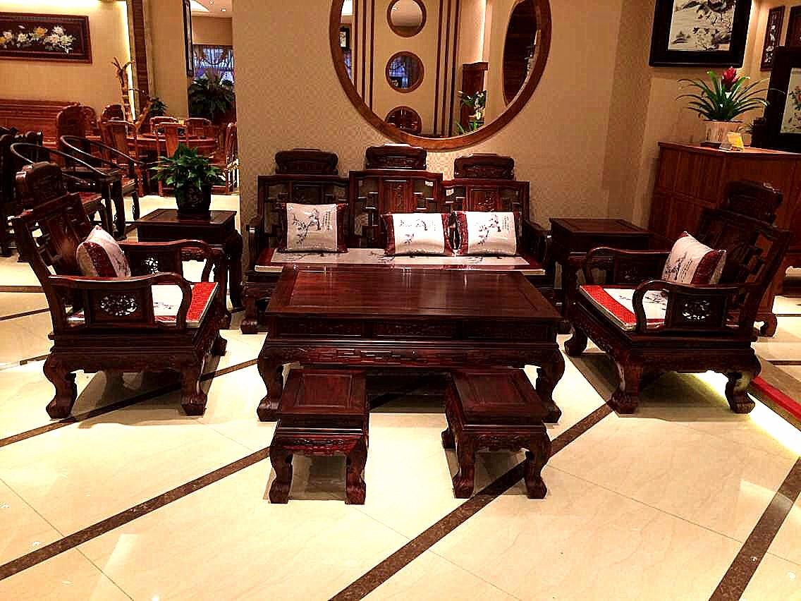 广东中山大涌大汇堂红木家具品牌